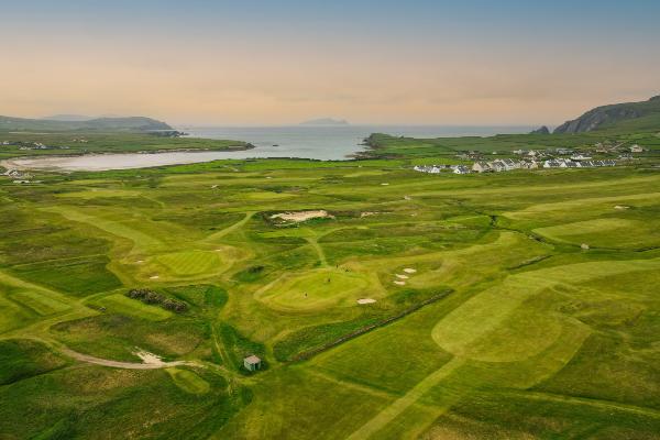 Golf al atardecer en Dingle