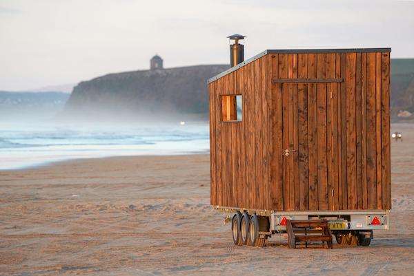 Relax in een HotBox sauna