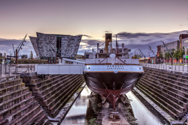 Step back in time to the era of RMS Titanic!