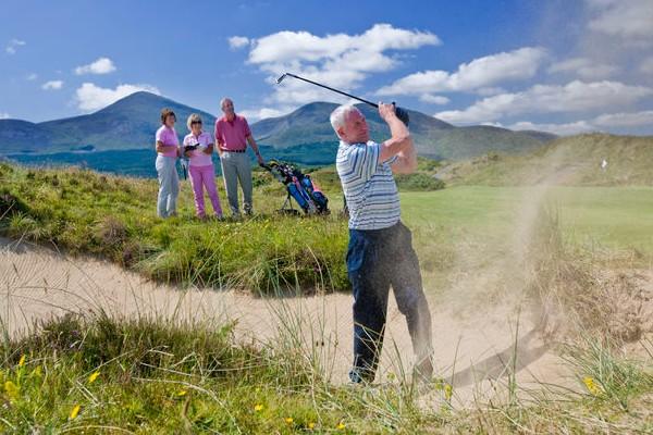 Golf tour in Irlanda con autista privato