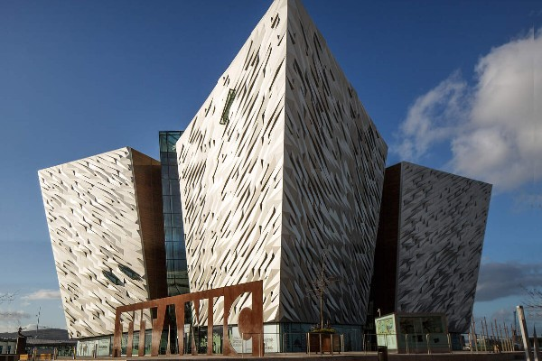 Belfast from only £139 single (car + driver)