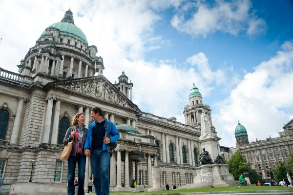 Belfast from only £119 single (car + driver)