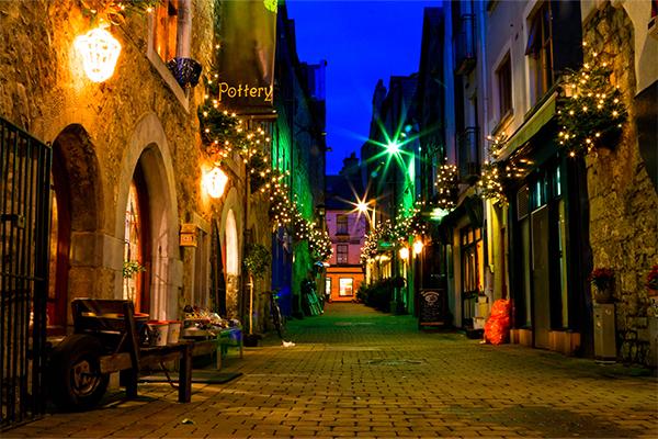Ett juläventyr i Galway och Dublin