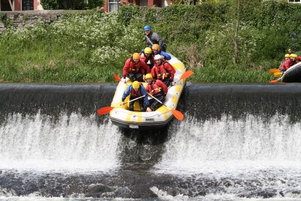 Rafting sul fiume Liffey