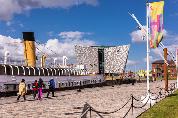 Visita a Titanic Belfast y SS Nomadic
