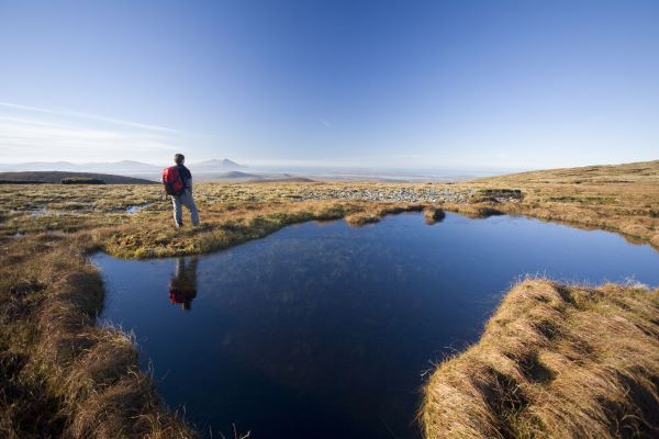 Randonnée dans la région du Connemara